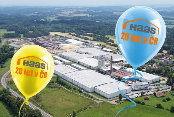 20 let Haas v České republice