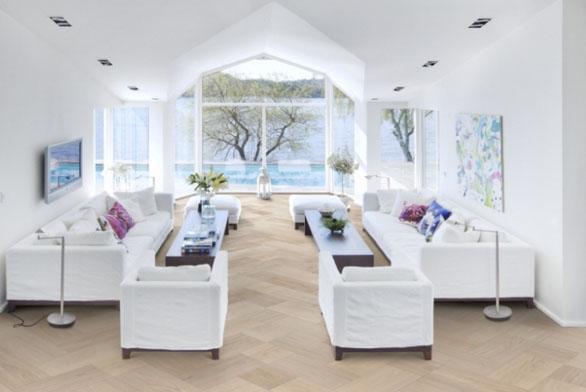 Dřevěná podlaha jako na zámku