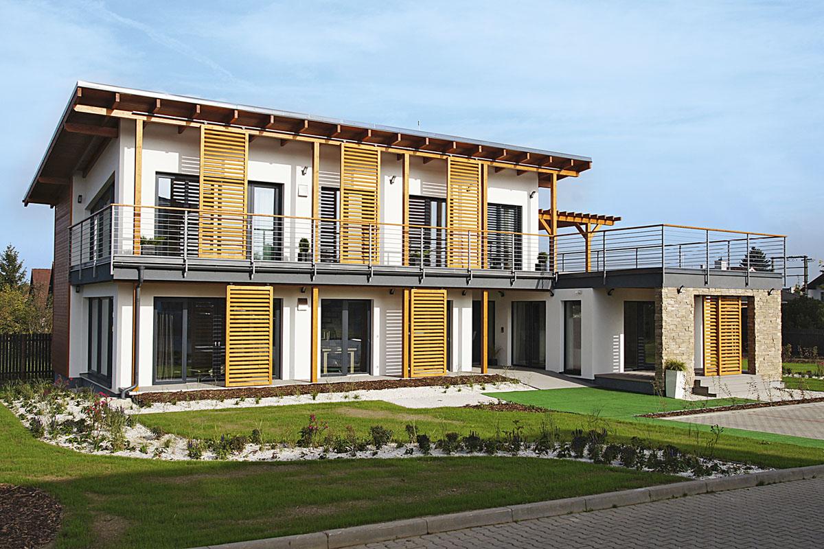 Vzorové domy: Výkladní skříň bydlení