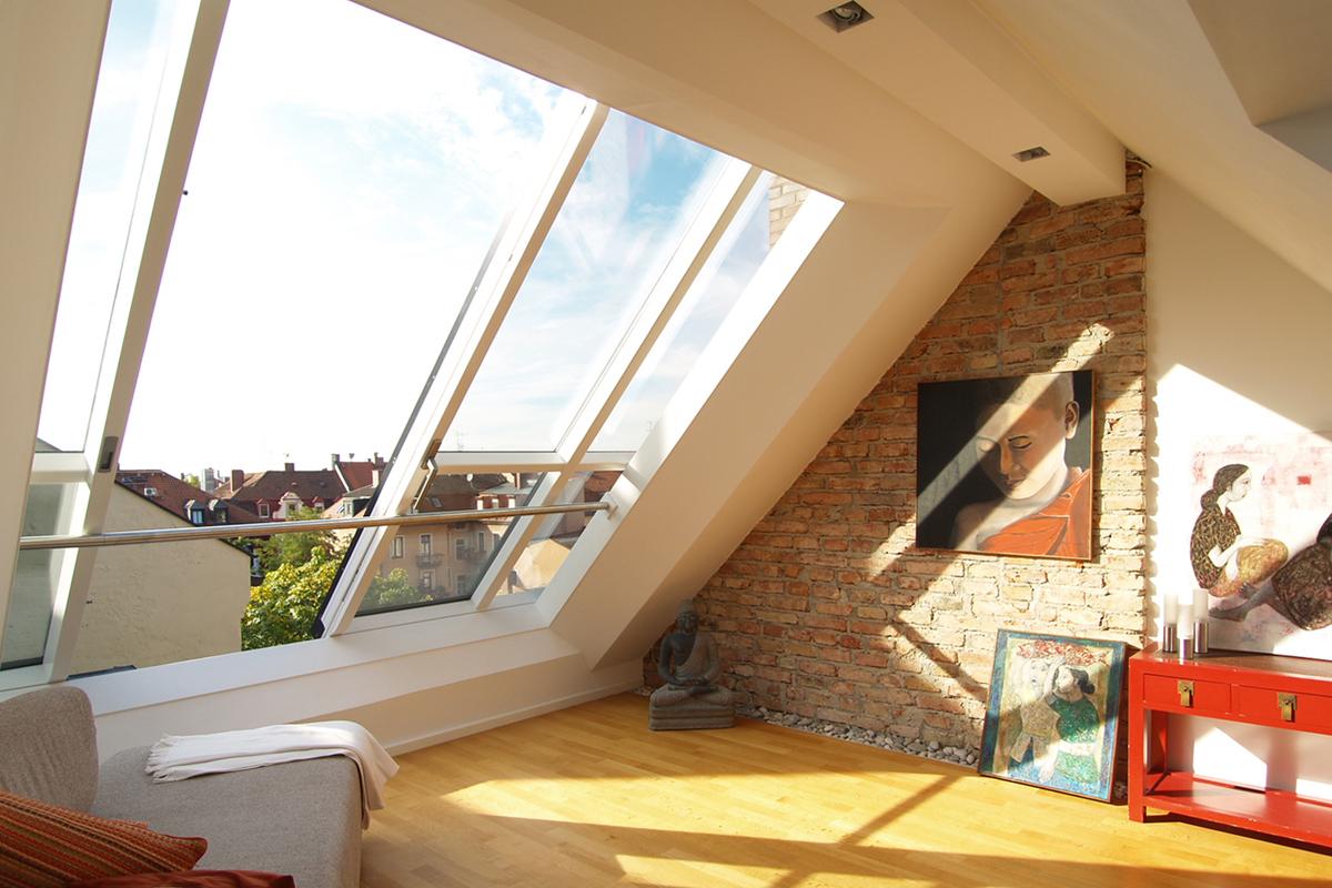 Atypická střešní okna Solara