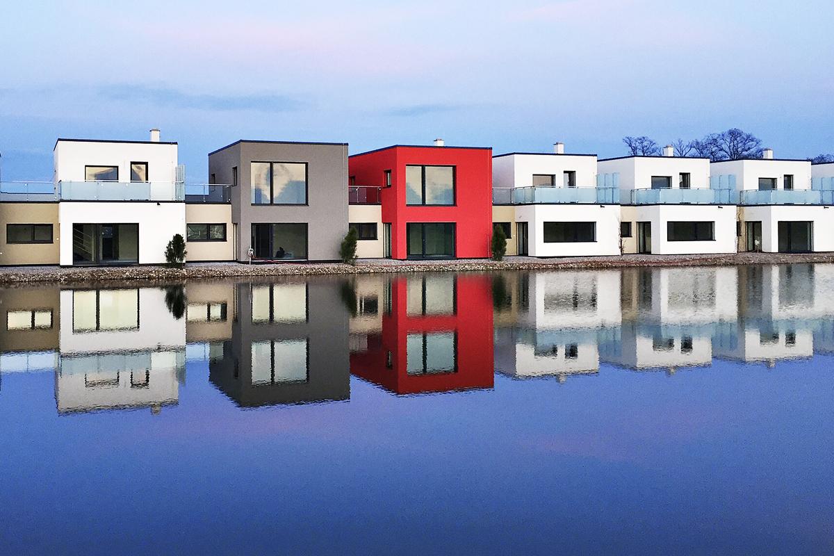 Úsporné bydlení v řadových domcích na sedmnácté jamce