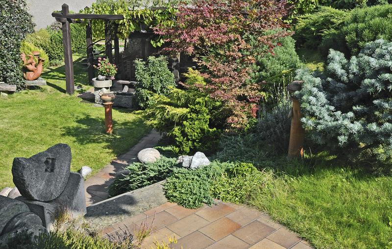 Můj Dům  Zahrada se zámeckými schody