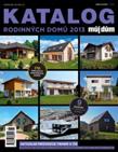 Katalog rodinných domů 2013