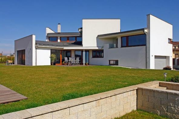 Dobře utajený funkcionalistiský dům