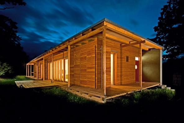 Moderní přístup k dřevostavbě