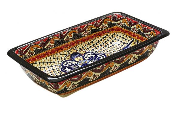 Tradiční venkovský design umyvadel Fregadero dává ještě více vyniknout ruční malbě. Cena 19990Kč