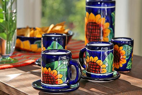 Dědici kulturního vlivu Olméků, Mixtékové, vynikali mimo jiné výrobou keramiky.