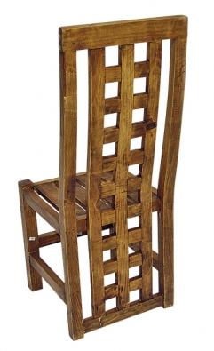 Židle Panamá, materiál mexická borovice, cena 6990Kč za kus (vše La Lagartija)