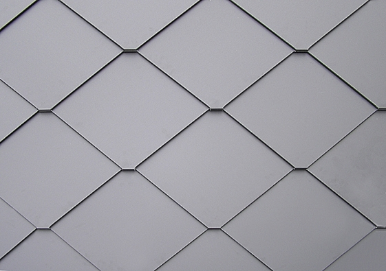 Dektile 375 je krytina z pozinkovaného plechu, tvořená samostatnými taškami čtvercového tvaru
