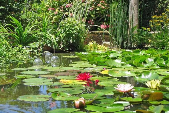 Voda dokáže vzahradě navodit romantickou atmosféru
