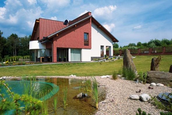 Moderní dům vyššího standardu