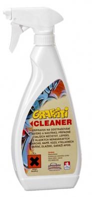 Graffiti Cleaner GB 100 slouží kodstranění čtyř avíce vrstev nástřiků, je vhodný pro stropy, svislé plochy anepřístupná místa (Severochema)