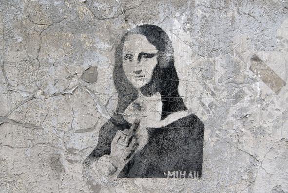 Pro majitele domu je graffiti velká nepříjemnost