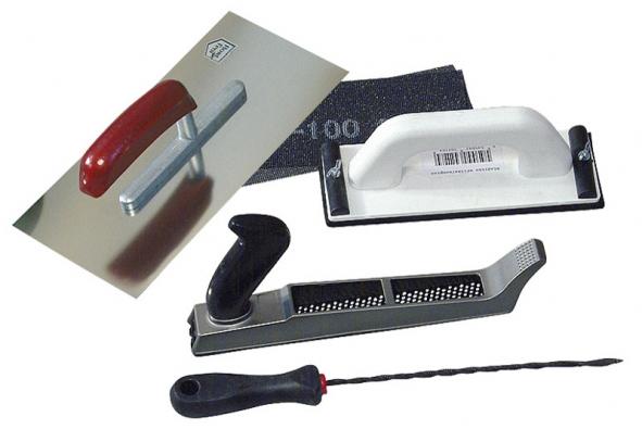 Nezbytné vybavení sádrokartonáře (RIGIPS)