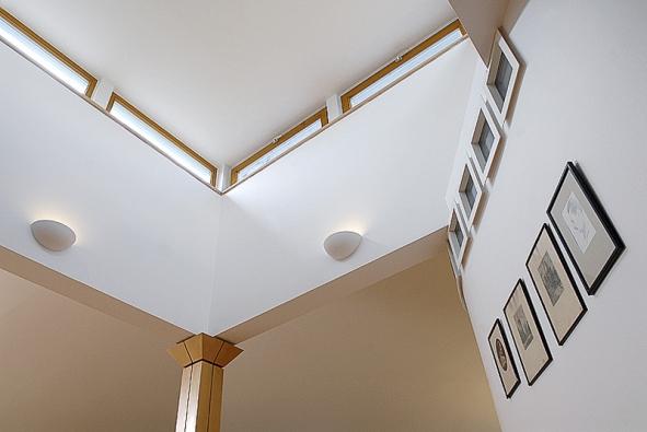 Nekonvenční řešení osvětlení pomocí sádrokartonové konstrukce (RIGIPS)