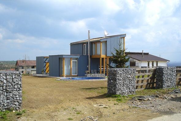 Realizace ze systému Europanel, typový dům Happy