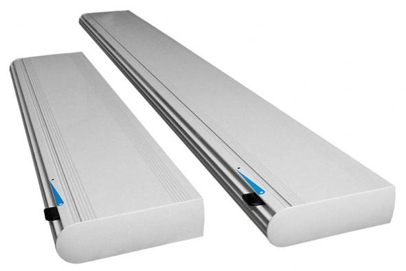 Prvek pro přívod vzduchu Fresh AL db je vhodný pro instalaci do oken zvláště vhlučném prostředí. Umísťuje se do horní části okenního rámu aje standardně dodáván sfiltrem aizolací proti hluku (NATIVA)