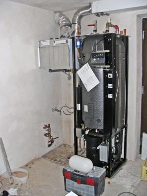 Montáž tepelného čerpadla srekuperací (IVT)