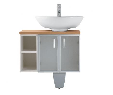 Široký sortiment skříněk vrůzném materiálovém provadení nabízí variabilní nábytek Mio, cena podle vybavení (JIKA)