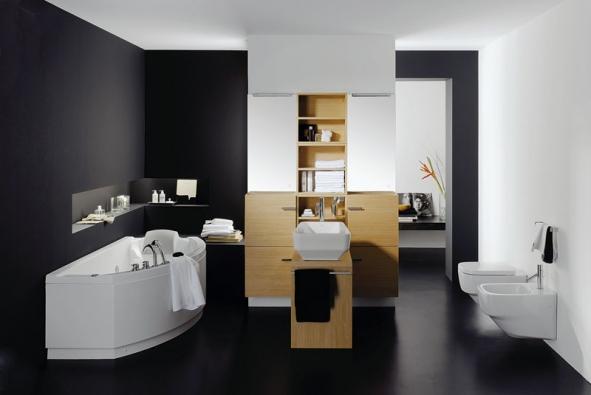 Koupelnovou sestavu Imagine tvoří otevřené skříňky askříňky sdvířky vorientační ceně od 7 150 Kč/kus azrcadla sosvětlením za cca 2 000 Kč/kus, vše bez DPH (IDEAL STANDARD)