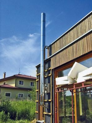 Komínový systém EKO-300 je určen pro samostatné komíny pro odvod spalin od spotřebičů na plynná, kapalná i tuhá paliva (EKO KOMÍNY).