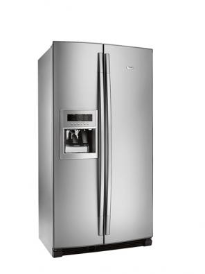 Chladnička 20RI-D3L stechnologií 6. smysl pro optimalizaci teplotních výkyvů, 335/185l, systém pro prodloužení čerstvosti potravin, Total No Frost, antibakteriální filtr, zásobník vody avýrobník ledu, funkce rychlého zchlazení, cena 39990Kč (Whirlpool).