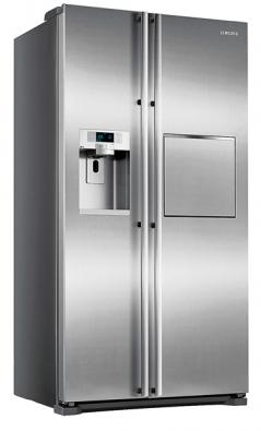 Chladnička RSG5FURS, 417/224l, největší objem při standardních rozměrech, energetická třída A, systém Twin Cooling Plus pro trvalejší čerstvost potravin, systém No Frost, digitální regulace teploty, antibakteriální povrchy, cena 79990Kč (Samsung).
