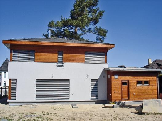 Dřevostavby už dávno nejsou jen chaty a zahradní domky, dnes slouží k trvalému bydlení.