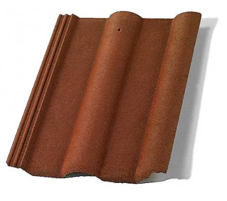 Velkoformátová střešní taška Natura patří dlouhodobě mezi nejžádanější modely společnosti Bramac především díky příznivému poměru kvality aceny (BRAMAC).
