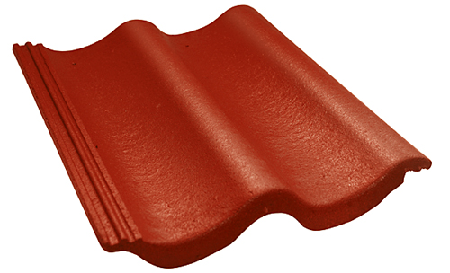 Povrch základní betonové tašky KM Beta vúpravě elegant je opatřen dvojitým ochranným akrylátovým nástřikem proti povětrnostním vlivům (KM BETA).