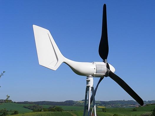 Vrtule AP 400 W slouží pro dobíjení akumulátorů (AERPLAST).
