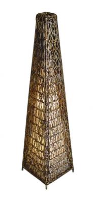 Stínidlo jako jehlan zbanánového listí, cena 2550Kč (HITRA).