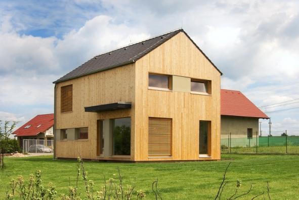 Úsporná a moderní dřevostavba