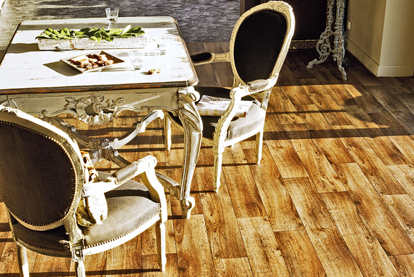 Podlaha funkční i exotická