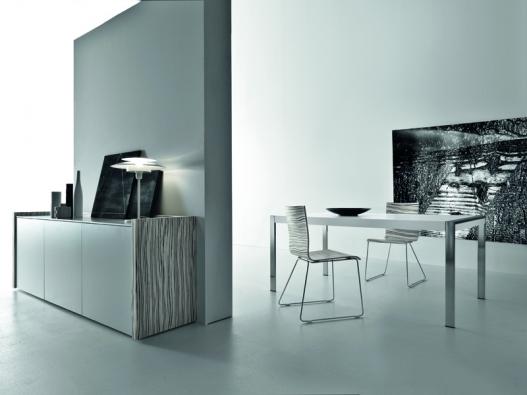 Slitta (výrobce Casa Design), chrom, sedák aopěrák dekor zebra, různá provedení, cena 8930Kč (DECOLAND).