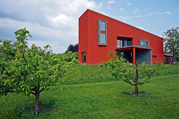 Lapidární koncept domu
