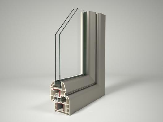 Nový šestikomorový systém Zendow+ se stavební hloubkou 70mm je dokonale vyvážený profil pro plastová okna a dveře (DECEUNINCK).
