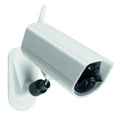 EYE-02 je bezpečnostní amonitorovací kamera, která vsobě slučuje funkce pěti různých detektorů (JABLOTRON).