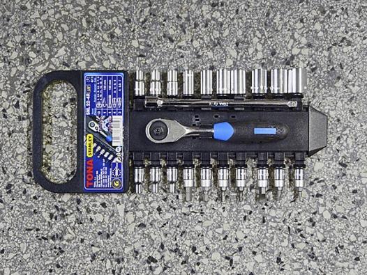 Nástrčné klíče sráčnou (TONA)