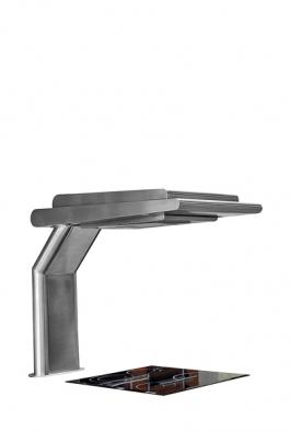 Stolní odsavač par SL32 je možno instalovat přímo na pracovní plochu nad varnou desku, cena 49990Kč (SIRIUS).