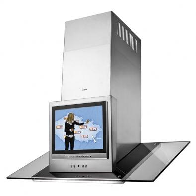 Odsavače par mohou být vybaveny integrovaným televizorem, cena kdoptání (MORA).