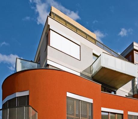 Konečný vzhled – včetně barvy – fasády je věcí vkusu majitele domu ajeho citu kvnímání okolí.