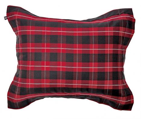 Povlečení Montana Check (Gant Home), 100% egyptská bavlna, 50 x 60cm, 70x90cm, cena od 1399 do 1599Kč, 140/220 x 200cm, cena od3699do 4999Kč (GALERIE MYSLBEK).