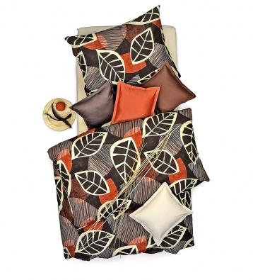 Povlečení Listy,  100% bavlna, 70 x 90cm  a140 x 200cm, cena 890Kč (SCAN QUILT).