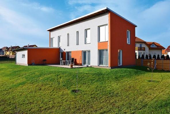 Pasivní dům s ocelovou páteří
