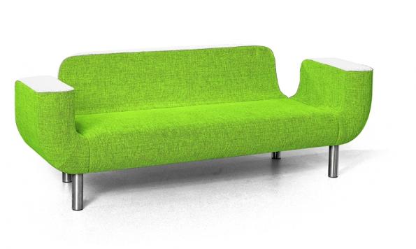 Novinkou na českém trhu je sofa Moara, krásné z obou stran, vyrábí POLSTRIN DESIGN.