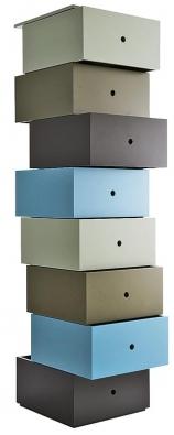Jako vhodné doplňky představujeme sestavu  boxů Aphrodite ze studia Ligne Roset, www.ligne-roset.cz.