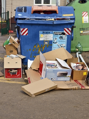 Při letmém pohledu do vašeho domácího koše na odpadky nebo do popelnice před domem uvidíte většinou různorodou skrumáž.