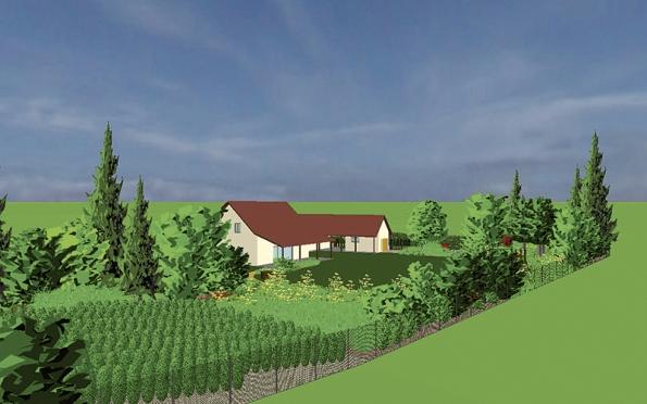 Návrh řešení zahrady