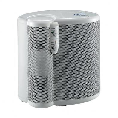Zvlhčovač vzduchu DAP 70 (De Longhi), 3 stupně filtrace:  vypratelný vstupní filtr, Hepa, uhlíkový + ionizátor, 3 poziční polohy, vhodný do místnosti velké 25 m², 3 rychlosti + sleep, cena 2990Kč (EXPERT ELEKTRO).